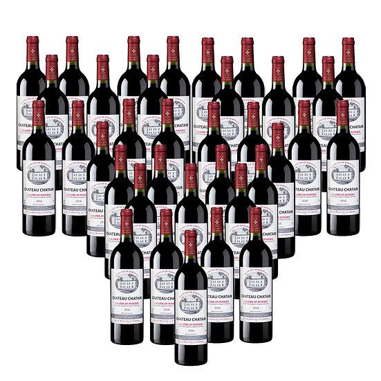 Château Chatain 2016 - 36 bouteilles