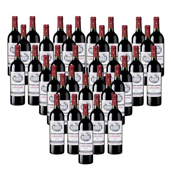 Château Chatain 2015 - 36 bouteilles