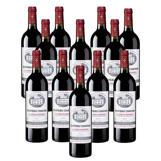 Château Chatain 2012 - 12 bouteilles