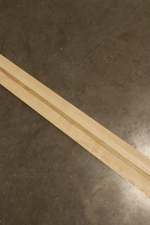 Manche guitare 3 plis frêne/chêne/frêne