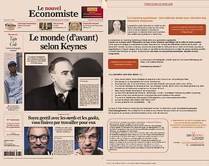 Le nouvel economiste - aout -septembre 2