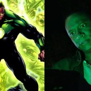 """Último episódio de """"Arrow"""" mostra um vislumbre de John Diggle como Lanterna Verde"""
