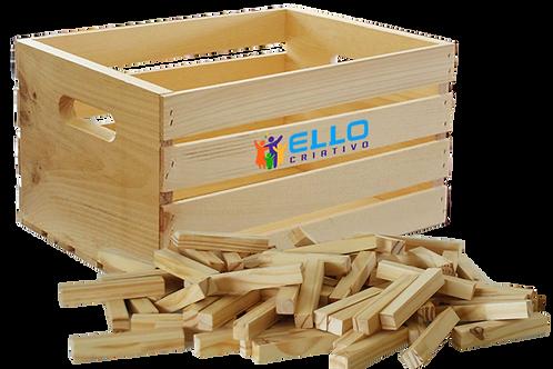 BOX CRIATIVO ELLO - 500 peças