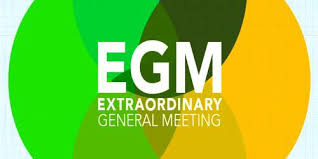 MCA Notification on Holding Extraordinary General Meeting (EGM)