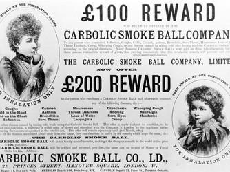 Carlill .v. Carbolic Smoke Ball Company [ Case Comment]
