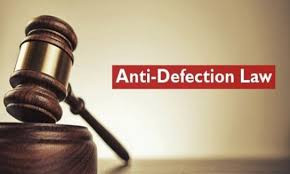 Anti-defection law In India : Lacunas and Solutions