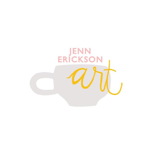 Jenn Erickson Art Logo
