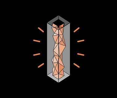 schema concepte in out twer architectue nuit  flat desin minimalist
