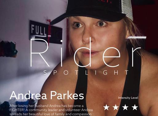 RIDER SPOTLIGHT: ANDREA PARKES