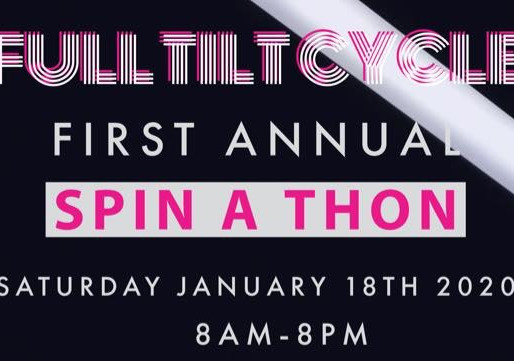 JOIN FULL TILT CYCLE SPINATHON IN SUPPORT OF THE PRHC FOUNDATION MOMBASSADORS