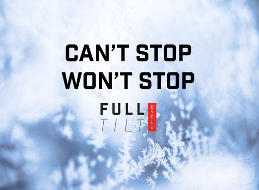 winter has arrived, full tilt!