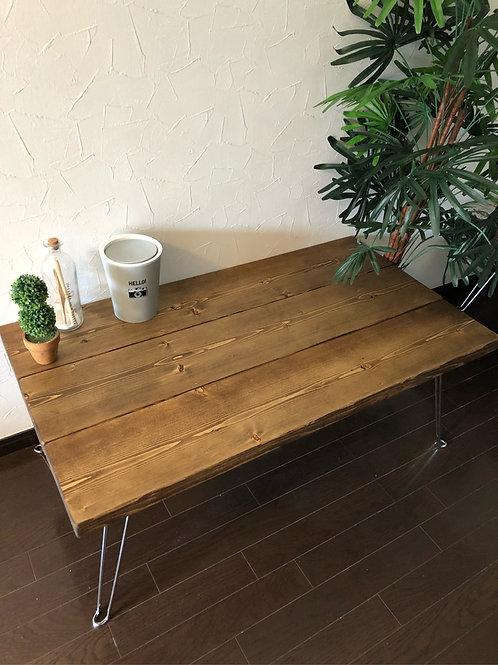 ビンテージ風ウッドテーブル
