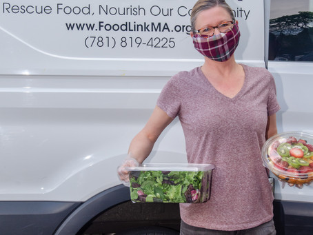 Food Link is hard at work alleviating food insecurity and the environmental impact of food waste