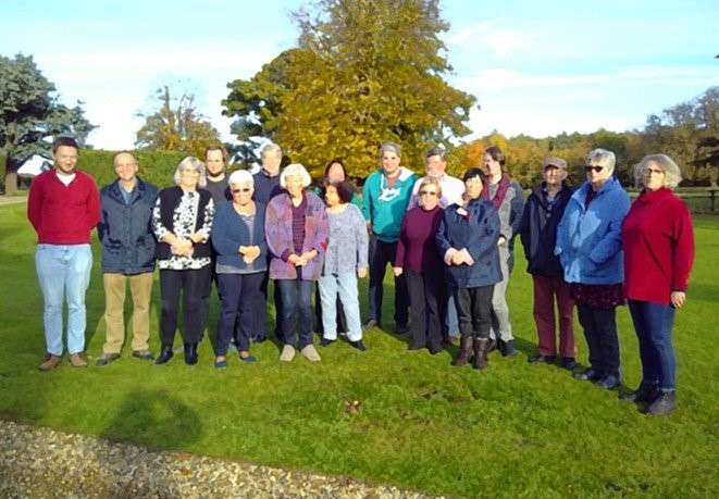 Team and trustees at retreat day
