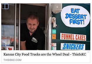 Kansas City Food Trucks are the Wheel Deal ThisISKC