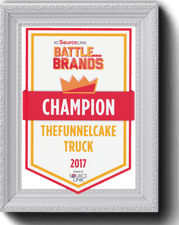BATTLE O THE BRANDS CHAMPION THEFUNNELAKETRUCK