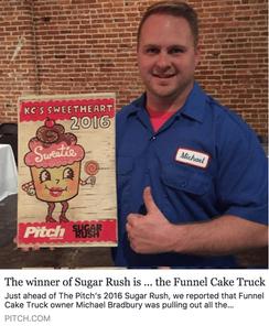 KC Sweetheart 2016 Sugar Rush Winner