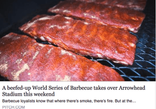 BARBECUE WORLD SERIES