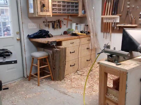My Lathe and Workspace