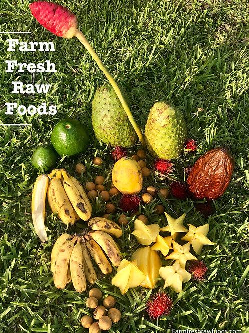 Exotic Fruit In Season Variety Box (Free Shipping)