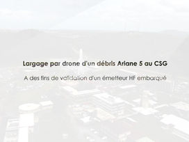 Largage par drone - validation et simulation