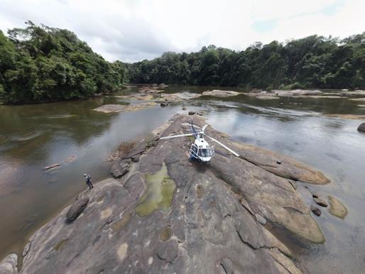 Mission drone à Trois-Saut