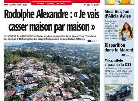 Nos images dans le France Guyane