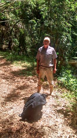 José Molino -Vigilante e Guarda Parque da UFRJ na EBSL