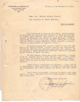 Carta sobre aquisição da EBSL
