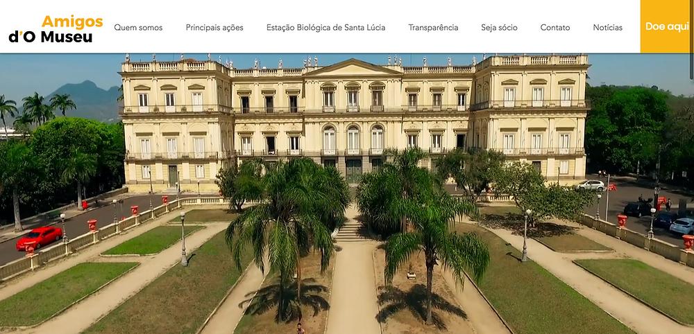 Traveling do Museu Nacional   Imagens e edição: Marcus Moura / Voar Multimídia  www.voarmultimidia.com.br