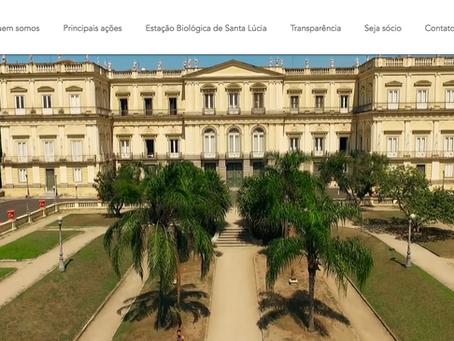 Novo website da SAMN