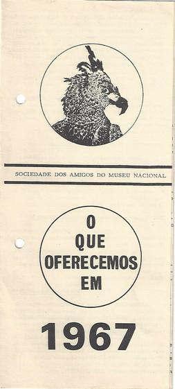 Folder 'O que oferecemos em 1967'