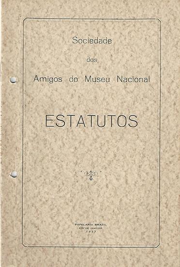 Estatutos da Sociedade dos Amigos do Museu Nacional (1937)