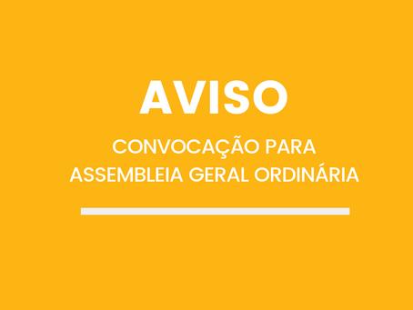 Convocação para Assembleia Geral Ordinária