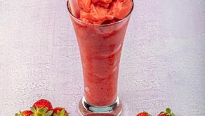 Strawberry & Balsamic Vinegar Booze Shake!