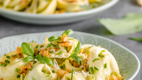 Simple Garlic EVOO Tortellini