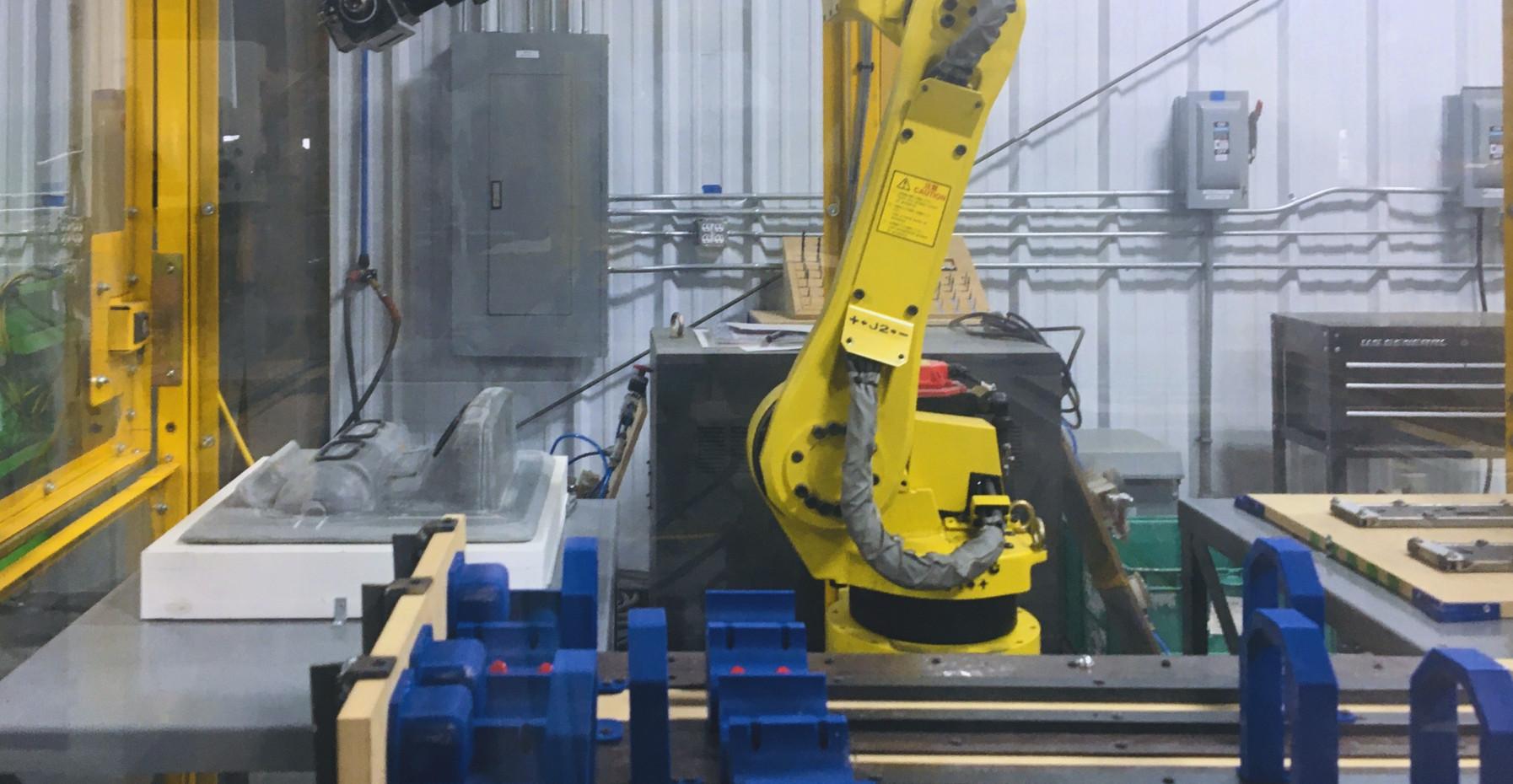 Robotic Manufacturing System