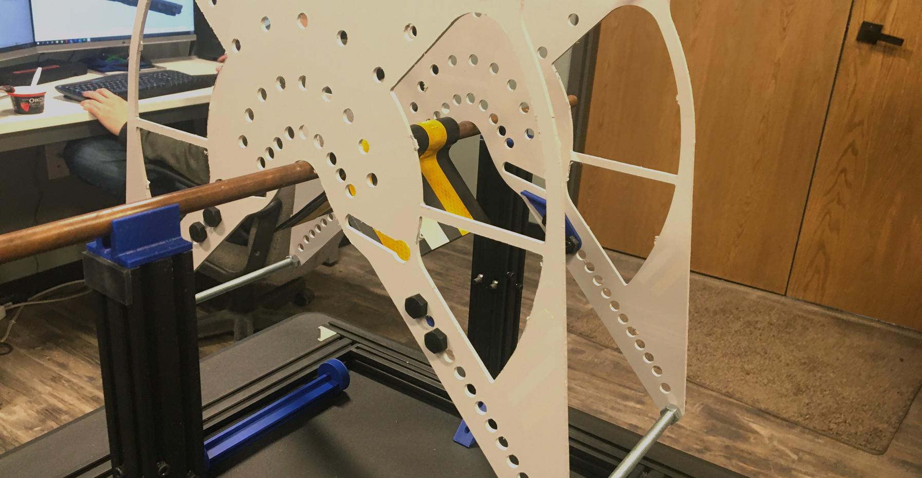Bird Flight Diverter Wind Test Apparatus