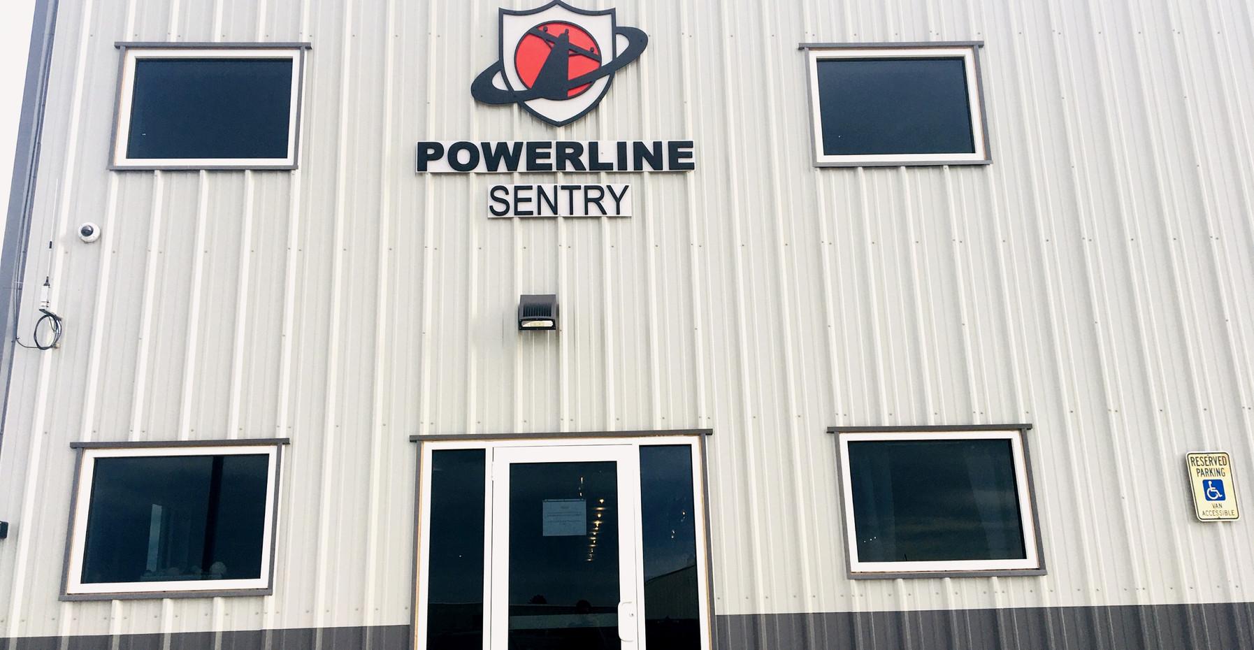 Power Line Sentry Entrance