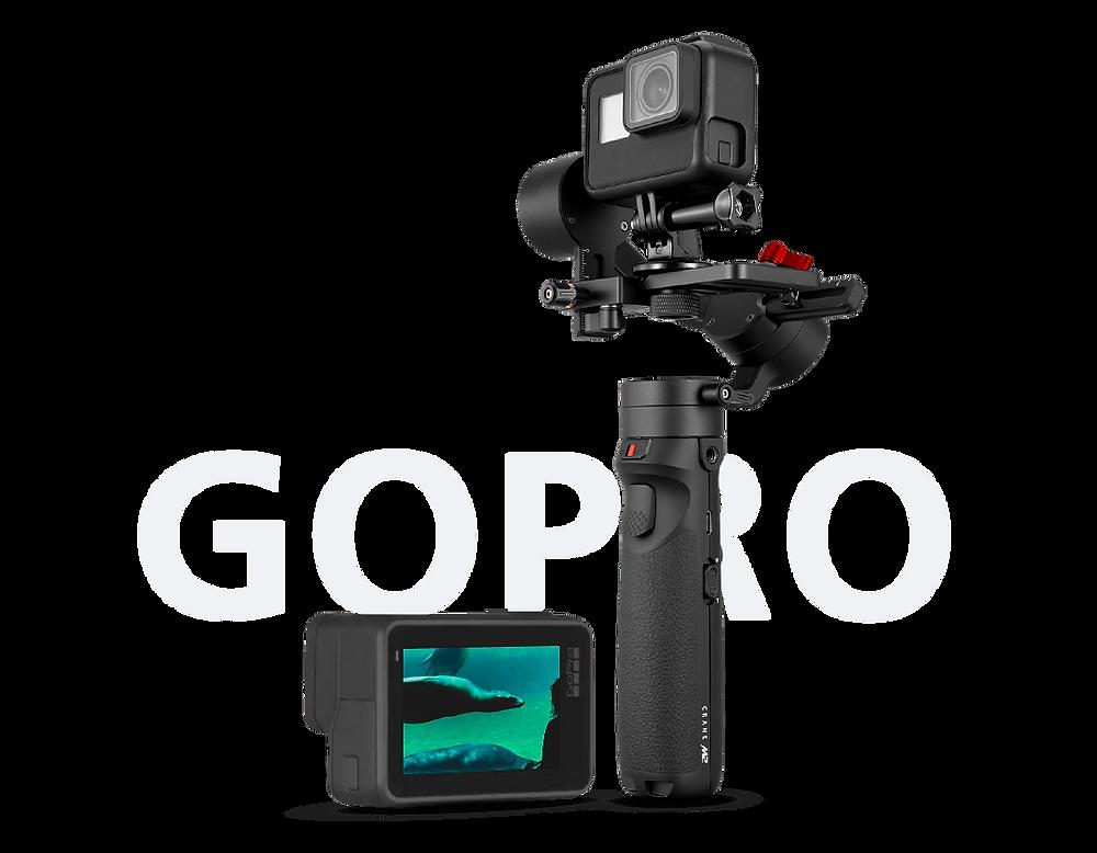 Zhiyune Crane M2 with GoPro