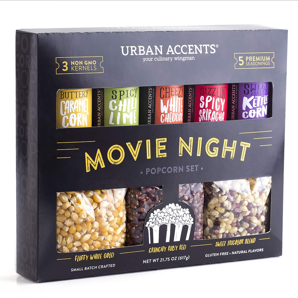 urban accents movie night popcorn kernels pack