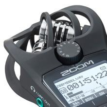 Zoom H1n recording level dial