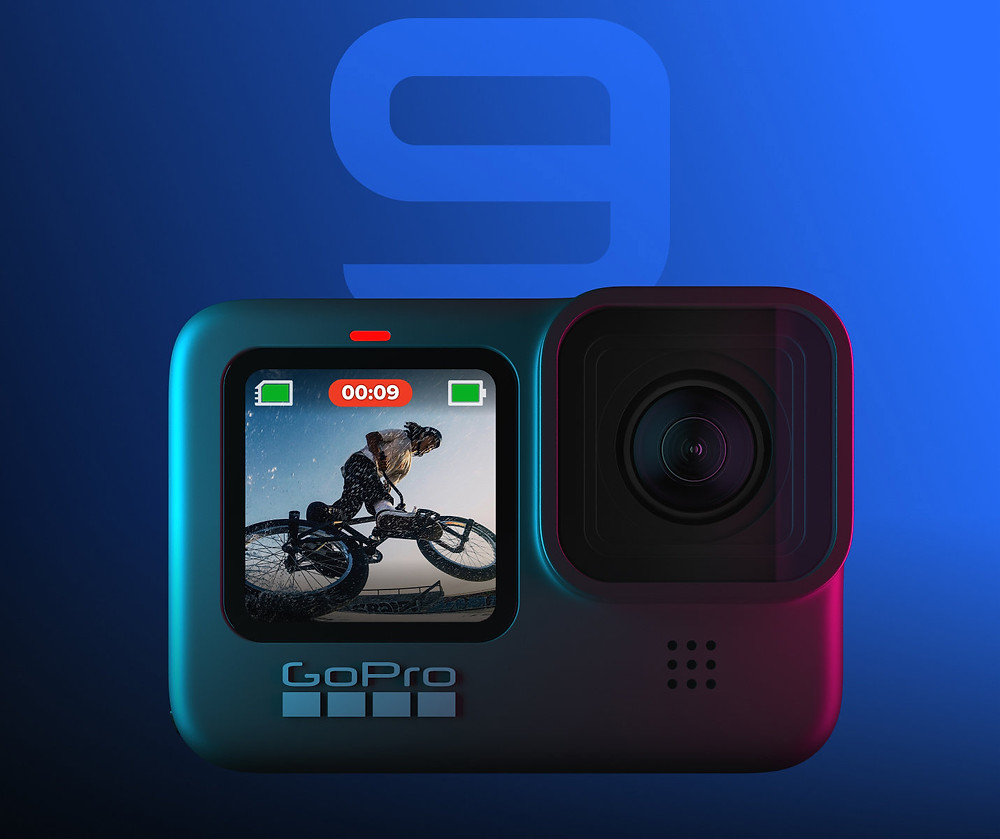 GoPro Hero 9 front screen