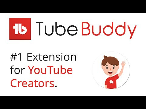 TubeBuddy extension for YouTube