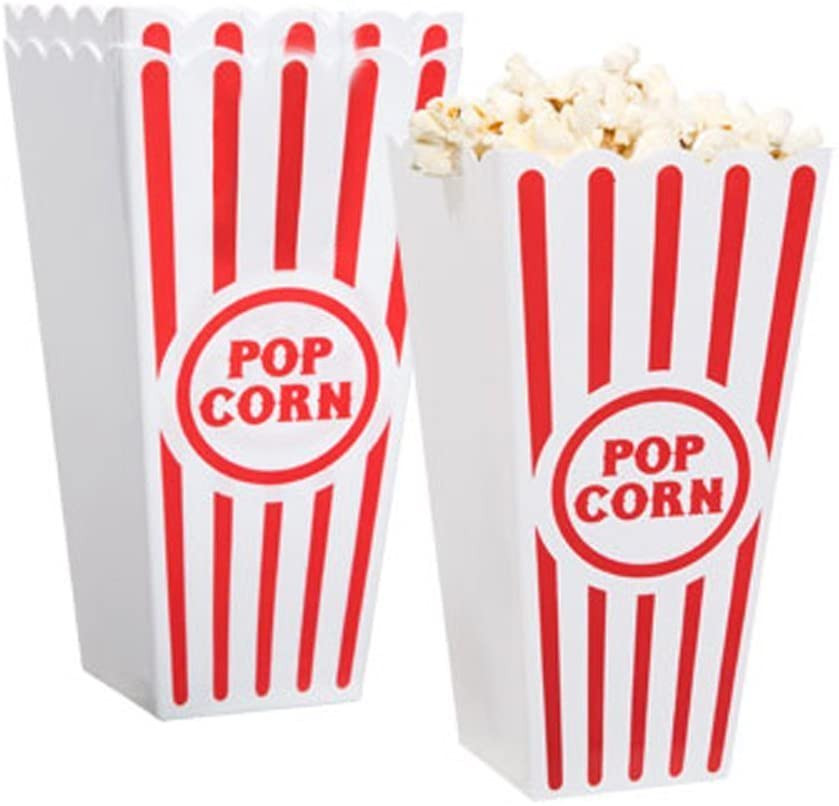 pop corn containers plastic