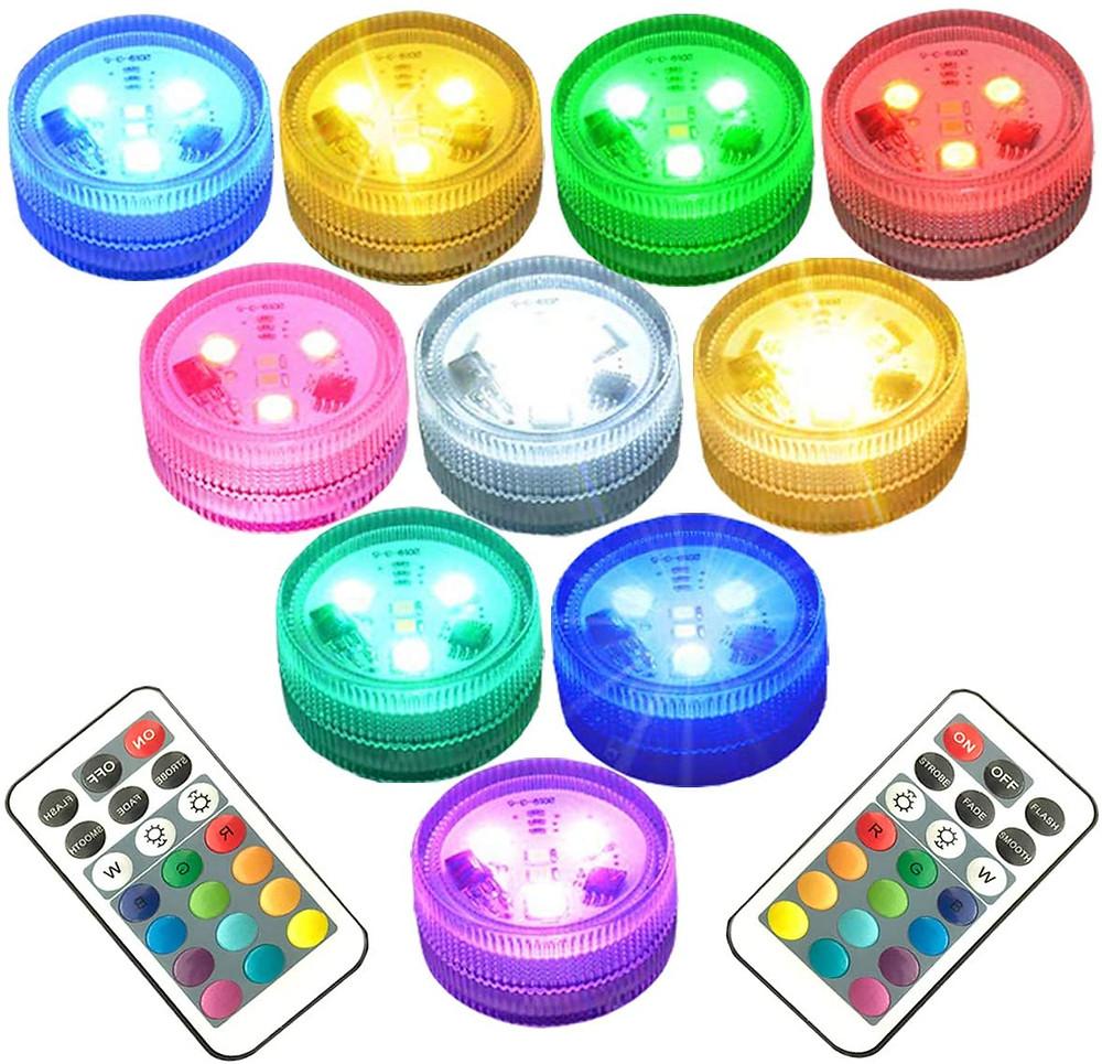submersible led light discs