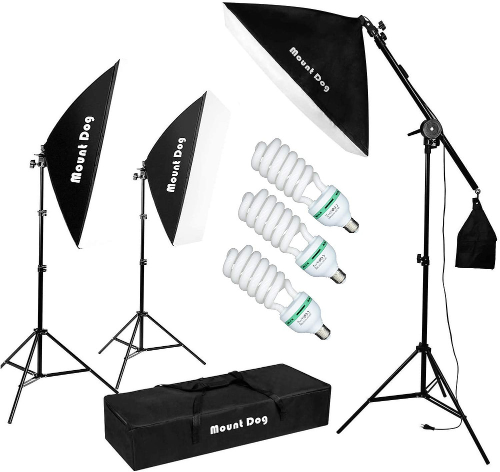 soft box light set