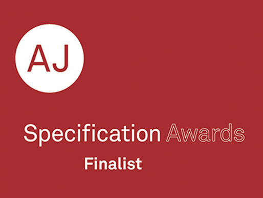 AJ Specification Awards – We are shortlisted