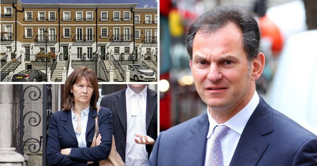 Banker sues ex-wife for £500,000 after she refuses to leave marital home