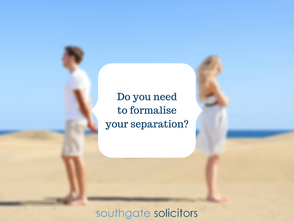 Do you need to formalise your separation?